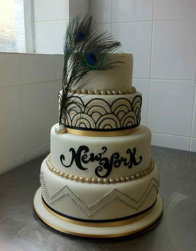 Gatsby Wedding Cakes  Redline studio concept store Great Gatsby 20s and Art