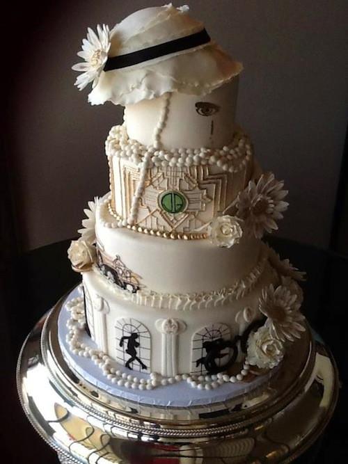 Gatsby Wedding Cakes  Gatsby Cake Project Nerd