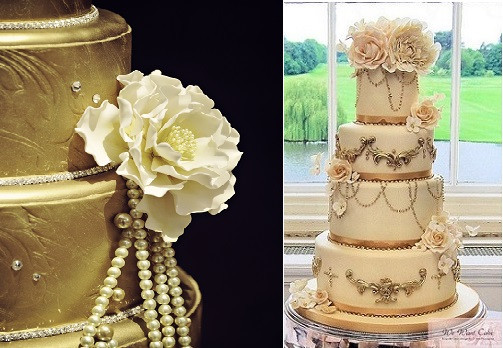Gatsby Wedding Cakes  Gatsby Wedding Cakes – Cake Geek Magazine