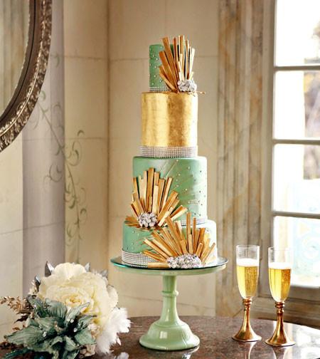 Gatsby Wedding Cakes  Great Gatsby Inspired Wedding Ideas