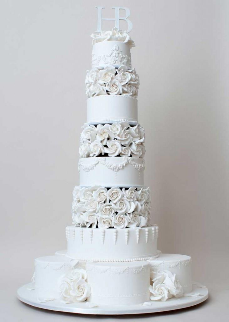 Gay Wedding Cakes  Confection Perfection Ron Ben Israel s Wedding Cake