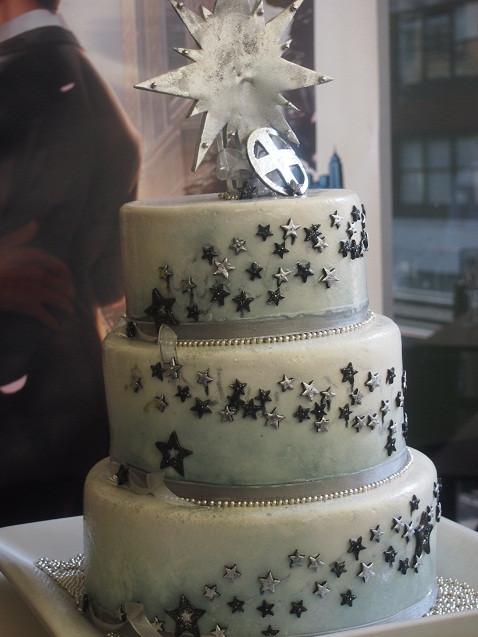 Gay Wedding Cakes  marvel ics wedding cake