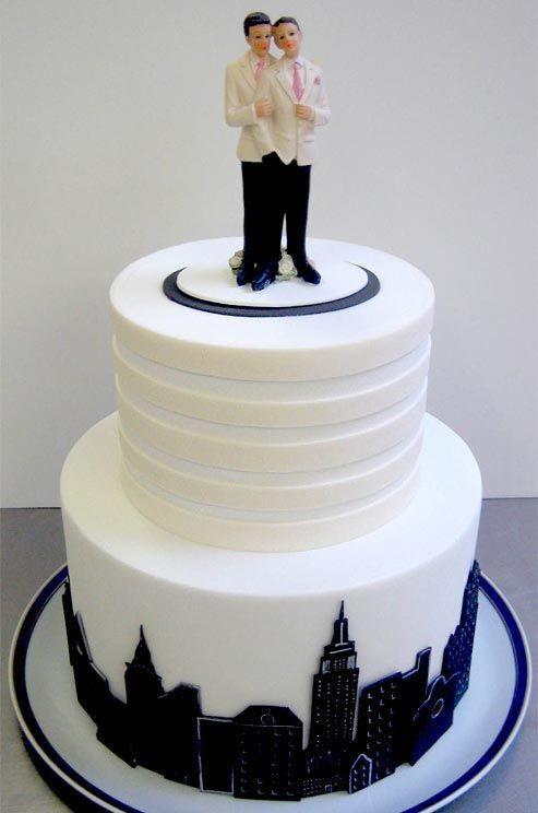 Gay Wedding Cakes  wedding cake wedding cake Pinterest