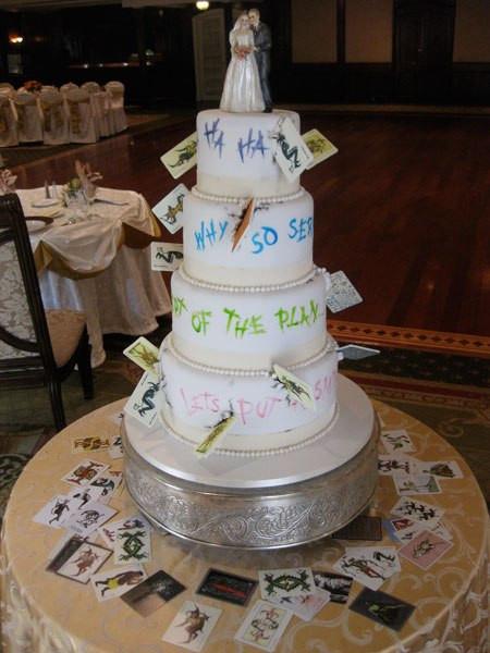 Geek Wedding Cakes  nerd weddings