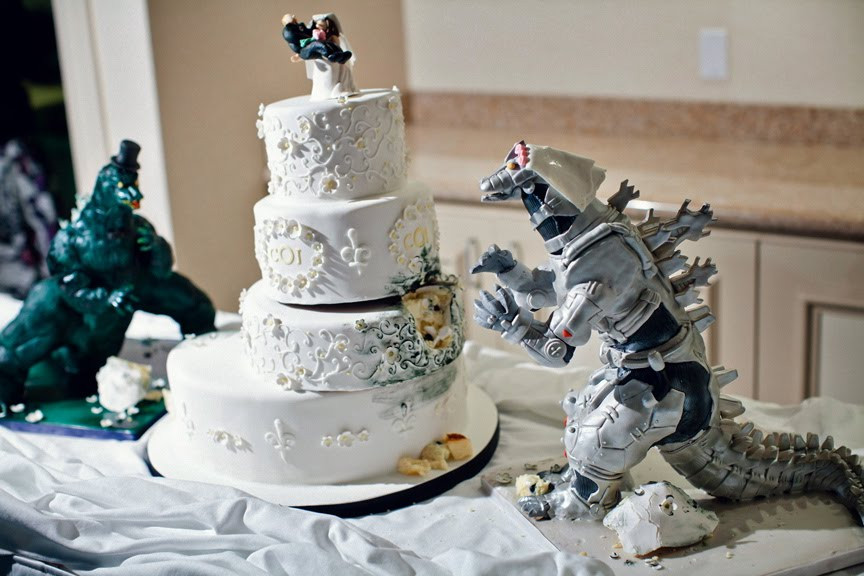 Geek Wedding Cakes  Cake Wrecks Home Sunday Sweets Geek Wedding Cakes