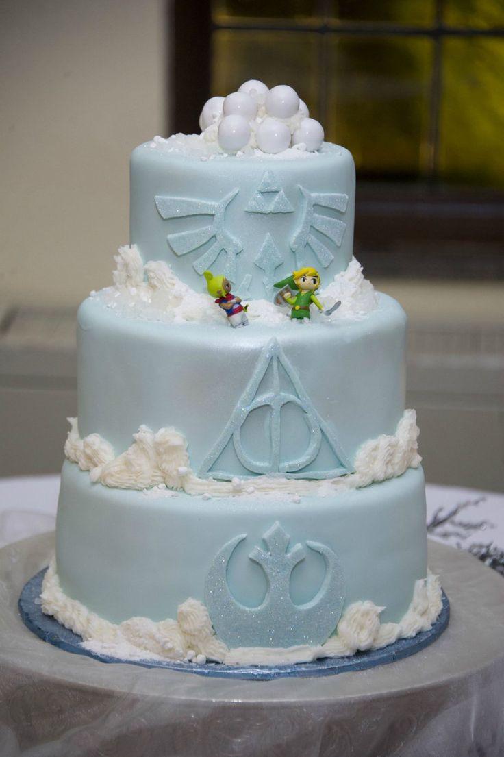 Geek Wedding Cakes  Les 25 meilleures idées concernant Desserts De Harry