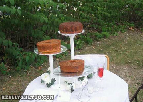 Ghetto Wedding Cakes  Ghetto Wedding Cakes Wedding and Bridal Inspiration