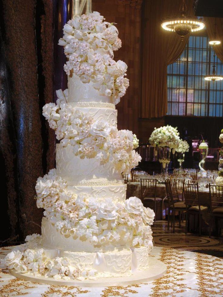 Gigantic Wedding Cakes  17 Best images about Huge wedding cakes on Pinterest