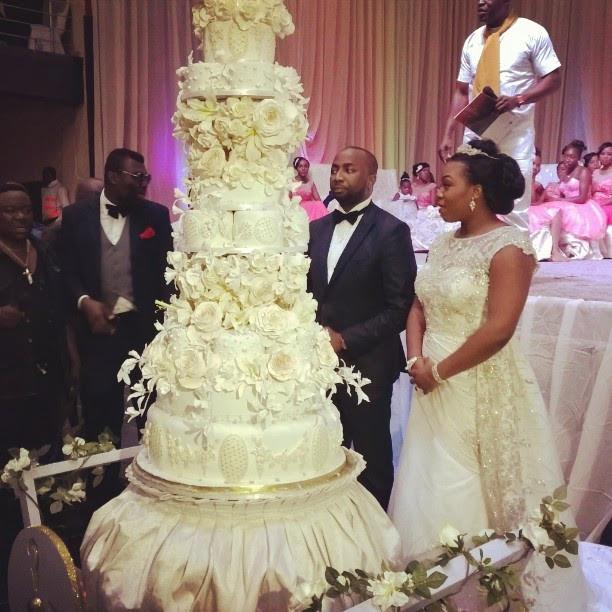 Gigantic Wedding Cakes  9 Nigerian Celebrity Wedding Cakes That Will Take Your