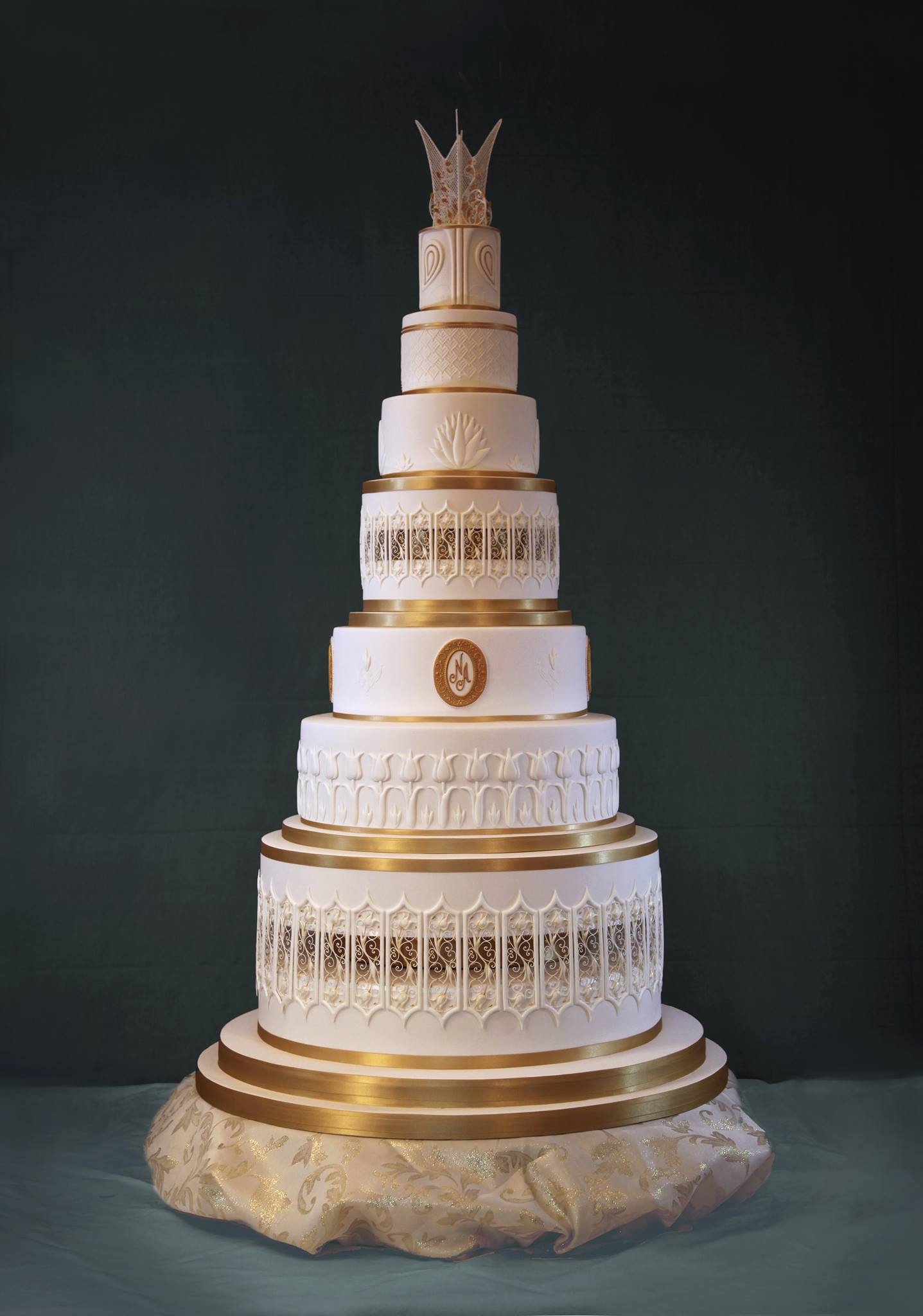 Gigantic Wedding Cakes  Huge Cake Dummies