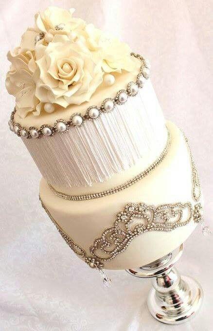 Glam Wedding Cakes  Bodas glam y las mejores ideas para finalizar tu look