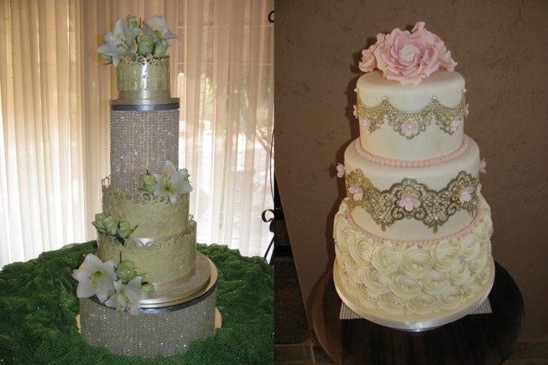 Glamour Wedding Cakes  Glamour Cakes Centurion Wedding Cakes Pink Book