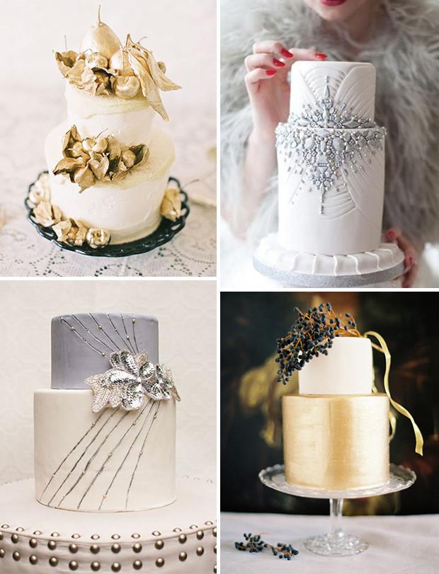 Glamour Wedding Cakes  5 Top Wedding Cake Ideas for 2014