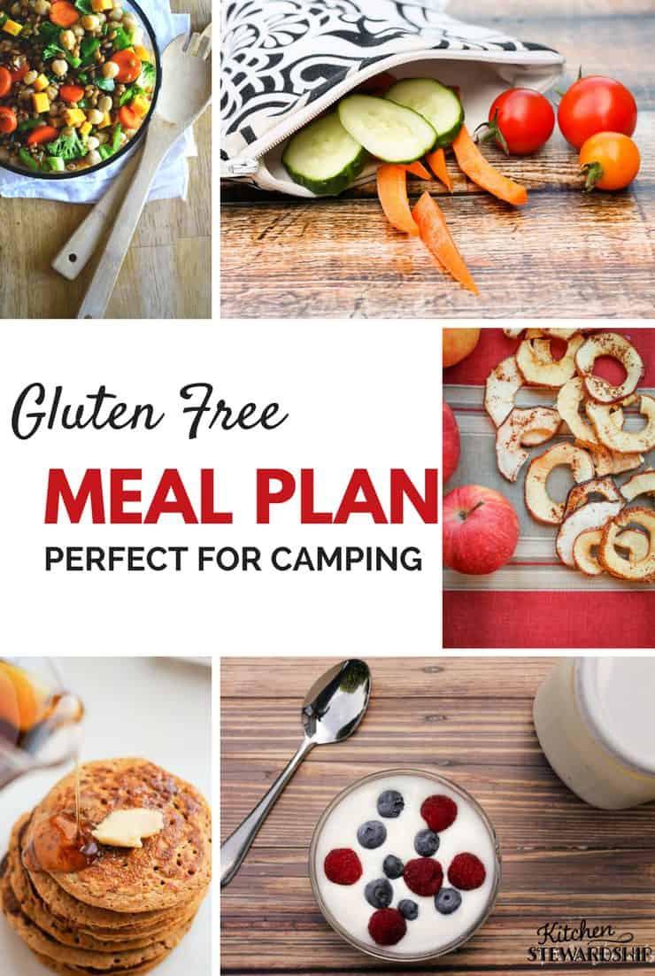 Gluten Free Camping Recipes  Gluten Free Camping Menu Plan