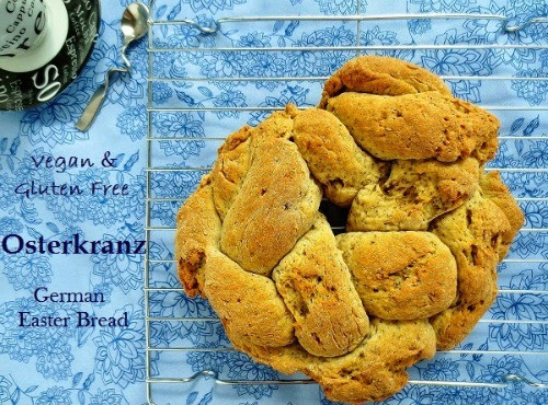Gluten Free Easter Bread  Live it Up at the Healthy Happy Green & Natural Party