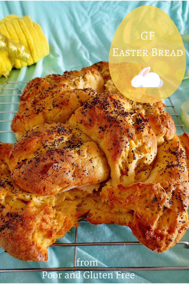 Gluten Free Easter Bread  Poor and Gluten Free with Oral Allergy Syndrome Gluten
