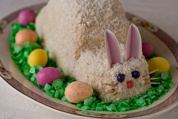 Gluten Free Easter Desserts  Easter bunny cake Gluten free