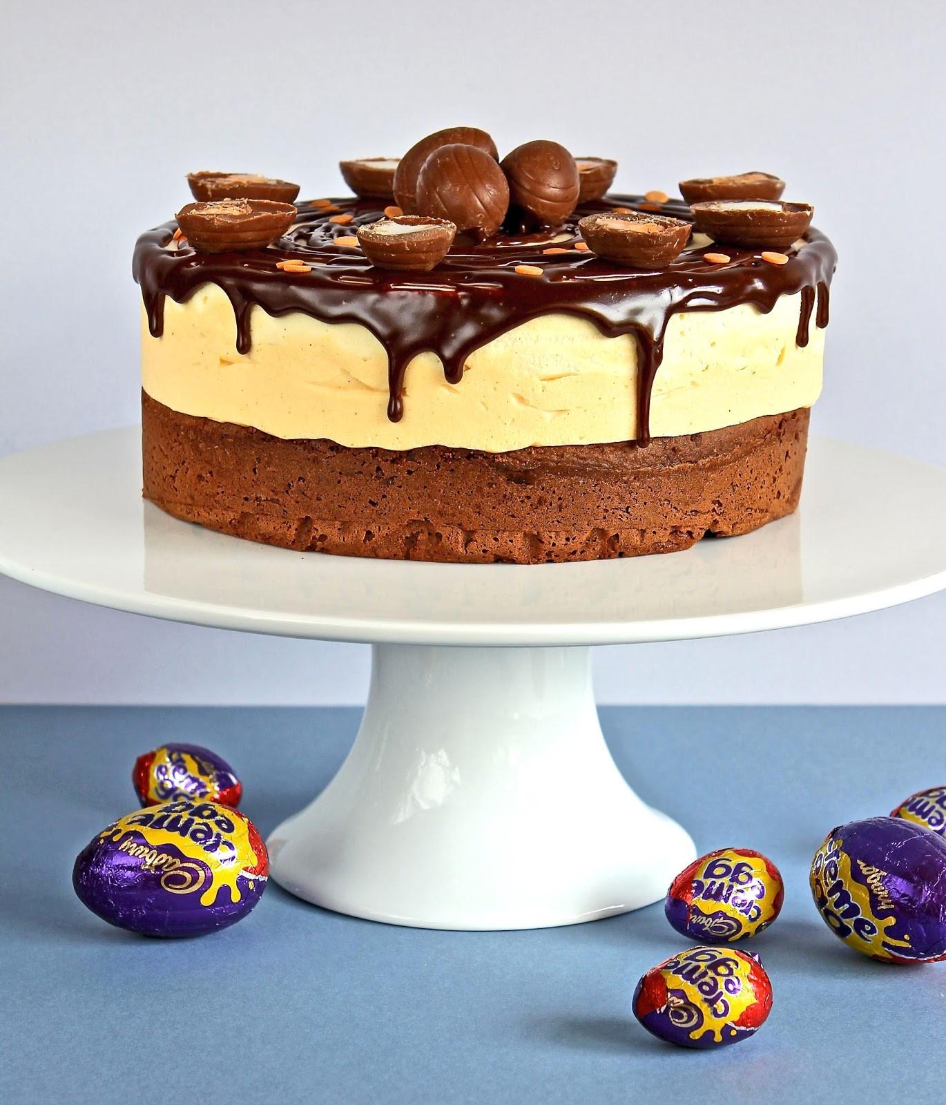 Gluten Free Easter Desserts  Gluten Free Alchemist Easter Creme Egg Mousse Cake
