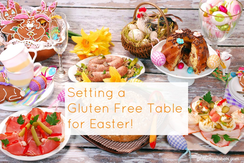 Gluten Free Easter Dinner  Gluten Free Easter Dinner – How to Set a Gluten Free Table