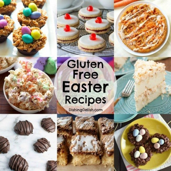 Gluten Free Easter Recipes  gluten free easter recipes Dishing Delish