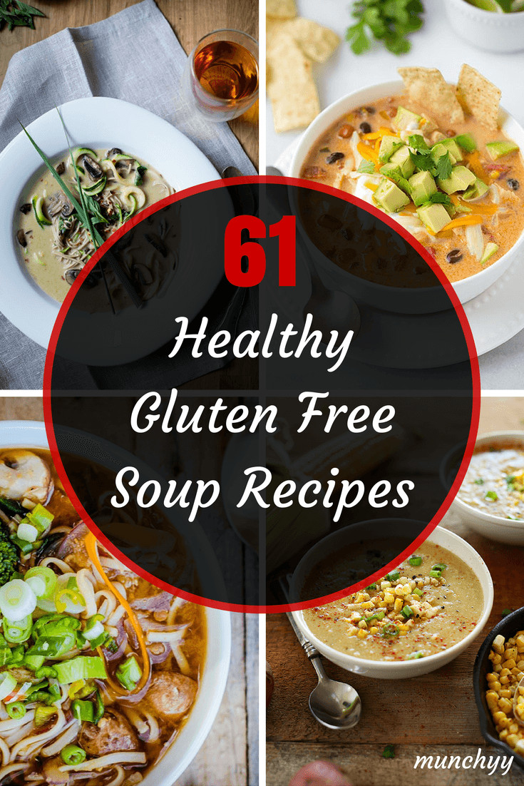 Gluten Free Healthy Recipes  61 Best Healthy Gluten Free Soup Recipes Munchyy