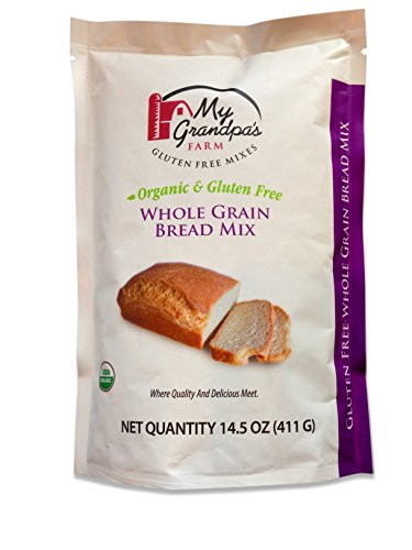 Gluten Free Organic Bread  My Grandpa s Farm Organic Gluten Free Whole Grain Bread
