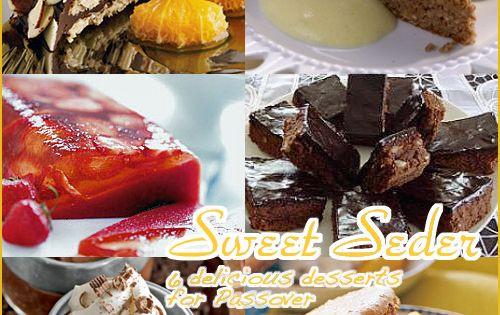 Gluten Free Passover Recipes  Six Delicious Passover Desserts So Delishas