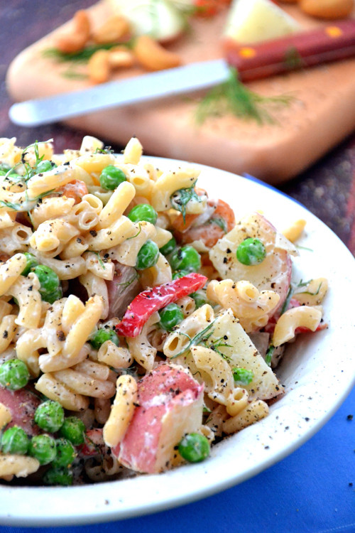 Gluten Free Side Dishes Summer  Summer Pasta Salad with Aurora Cashews — Aurora