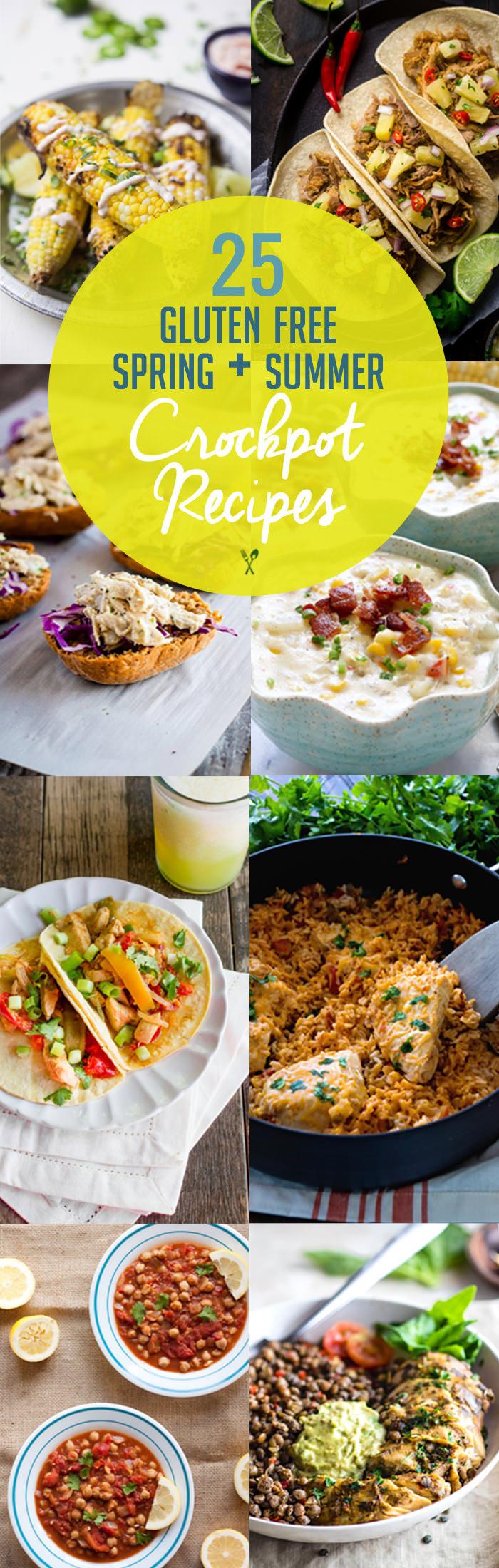 Gluten Free Summer Recipes  25 Spring and Summer Gluten Free Crock Pot Recipes