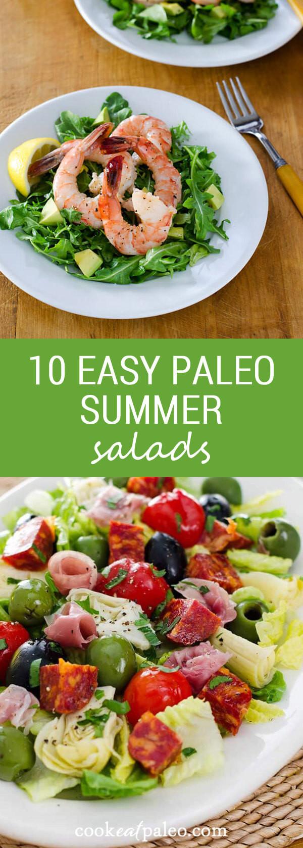 Gluten Free Summer Recipes  10 Easy Paleo Summer Salads