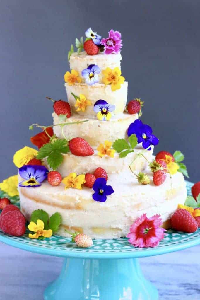 Gluten Free Wedding Cake Recipe  Gluten Free Vegan Wedding Cake