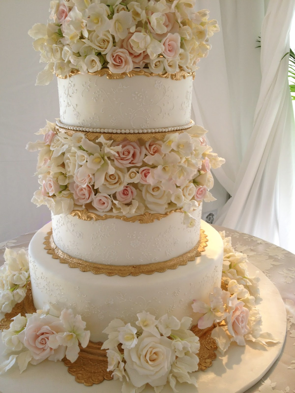 Gold Wedding Cakes  For the Love of Cake by Garry & Ana Parzych Custom