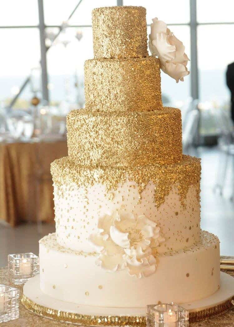 Gold Wedding Cakes  gold wedding cake 12 best photos Page 2 of 4 Cute