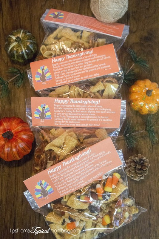 Golden Corral Easter Dinner  Thanksgiving Snack Mix Recipe and Free Printable
