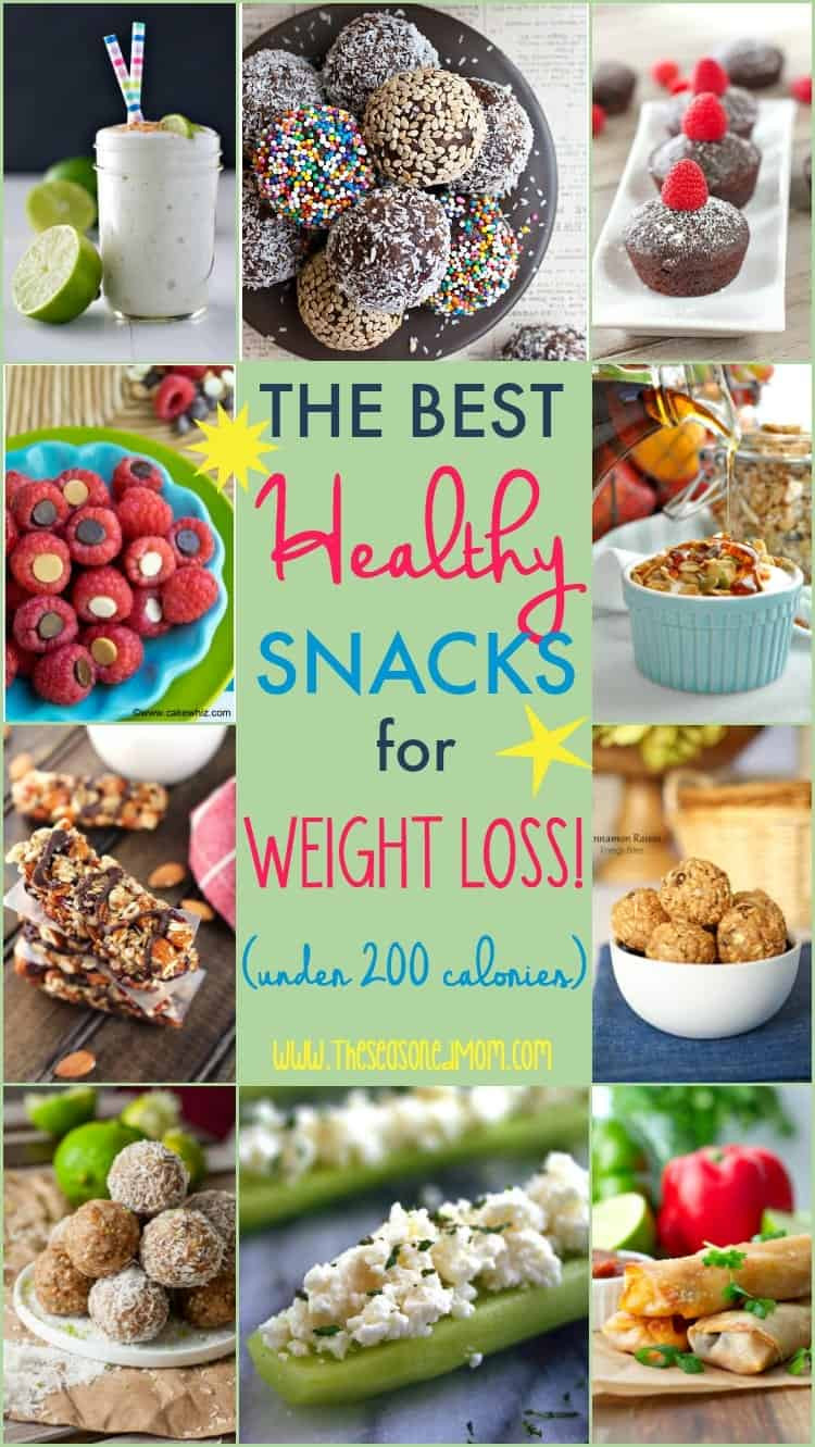 Good And Healthy Snacks  The Best Healthy Snacks for Weight Loss Under 200