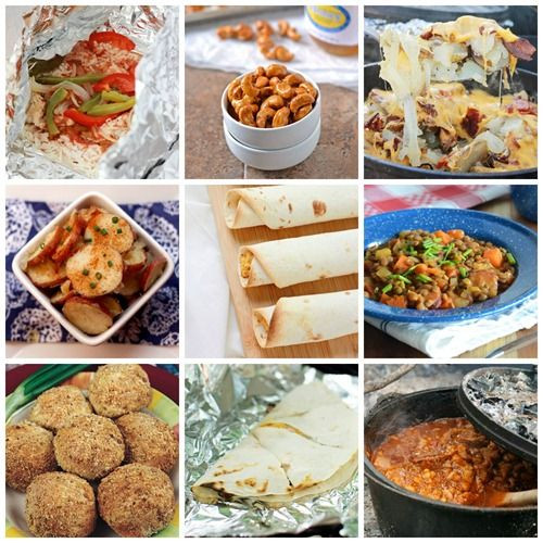 Good Camping Dinners  17 Best images about camp meals on Pinterest