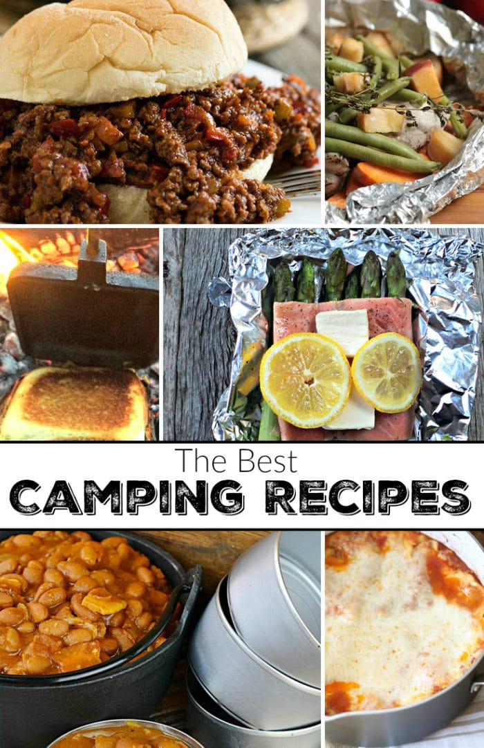 Good Camping Dinners  Camping Food Ideas · The Typical Mom