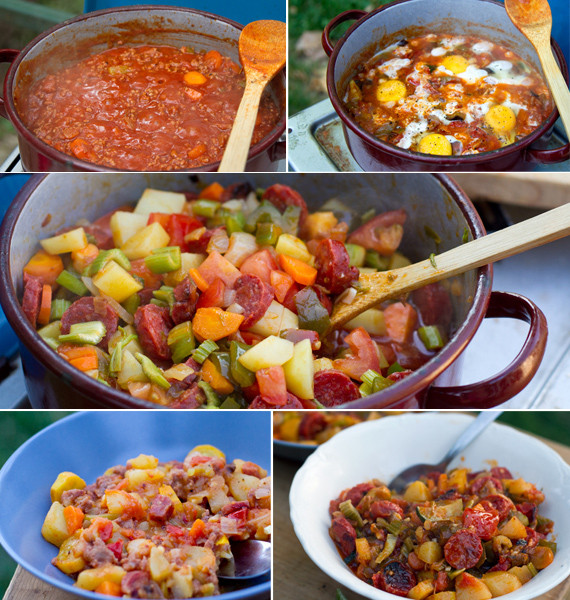 Good Camping Dinners  Great Camping Meals & Road Trip Food Ideas