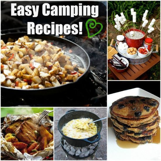Good Camping Dinners  17 Best images about CAMPING on Pinterest