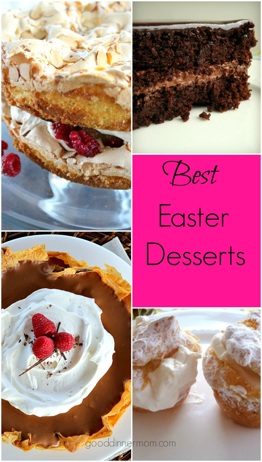 Good Easter Desserts  Easter Dessert Recipes Good Dinner Mom