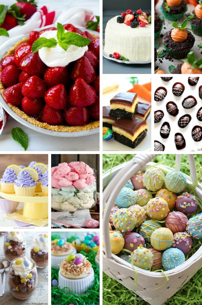 Good Easter Desserts  50 Festive Easter Dessert Recipes Dinner at the Zoo