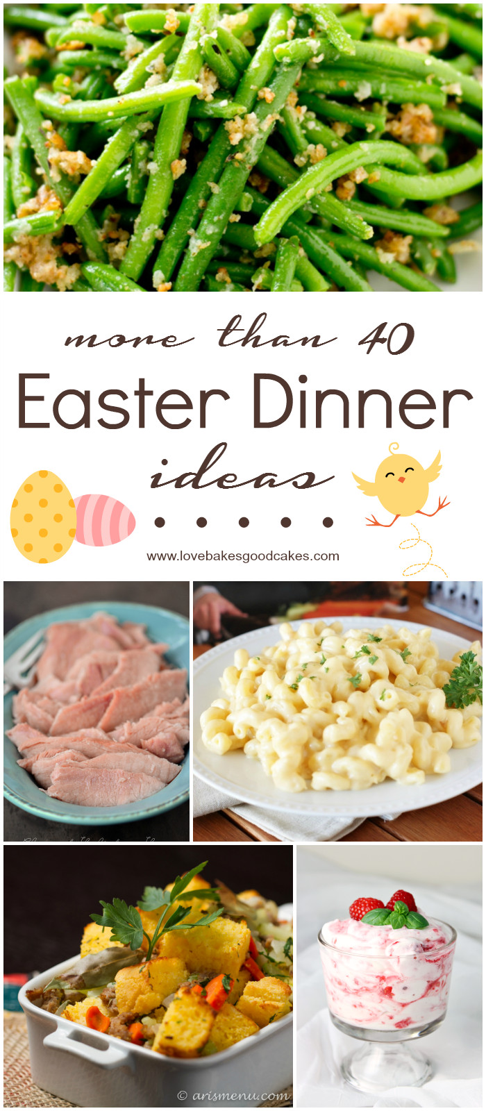 Good Easter Dinner Ideas  More than 40 Easter Dinner Ideas