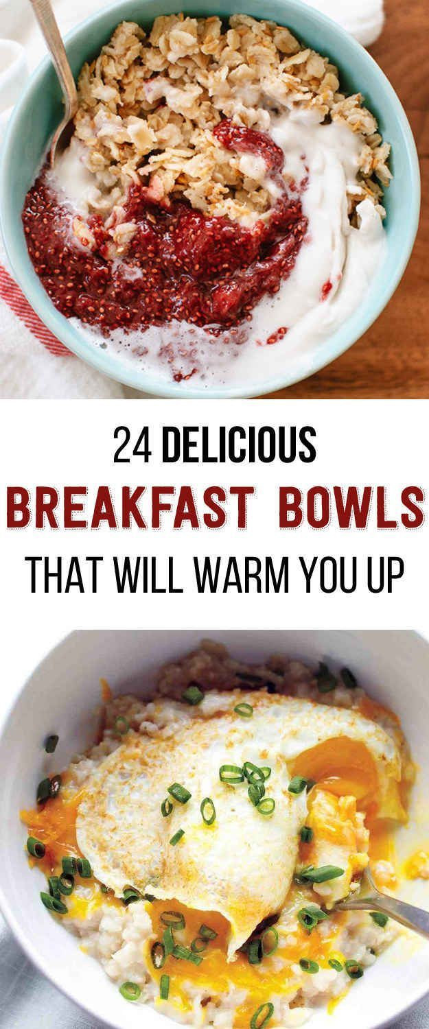 Good Healthy Breakfast  24 Delicious Breakfast Bowls That Will Warm You Up