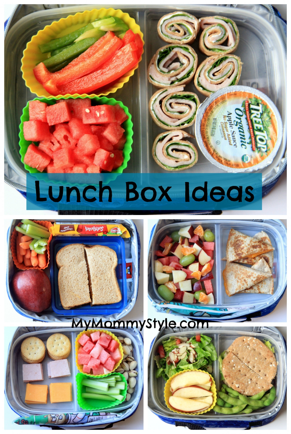 Good Healthy Lunches For School  Lunch box ideas kid lunches school lunch cold lunch ideas