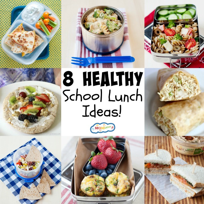 Good Healthy Lunches For School  8 Healthy School Lunch Ideas MOMables Good Food Plan