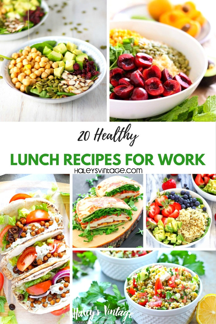Good Healthy Lunches For Work  20 Healthy Lunch Recipes for Work That Are Not Boring