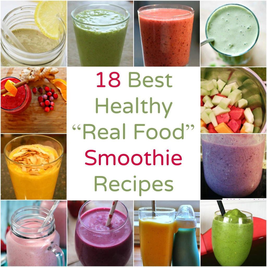 Good Healthy Smoothies  Smoothie Recipes