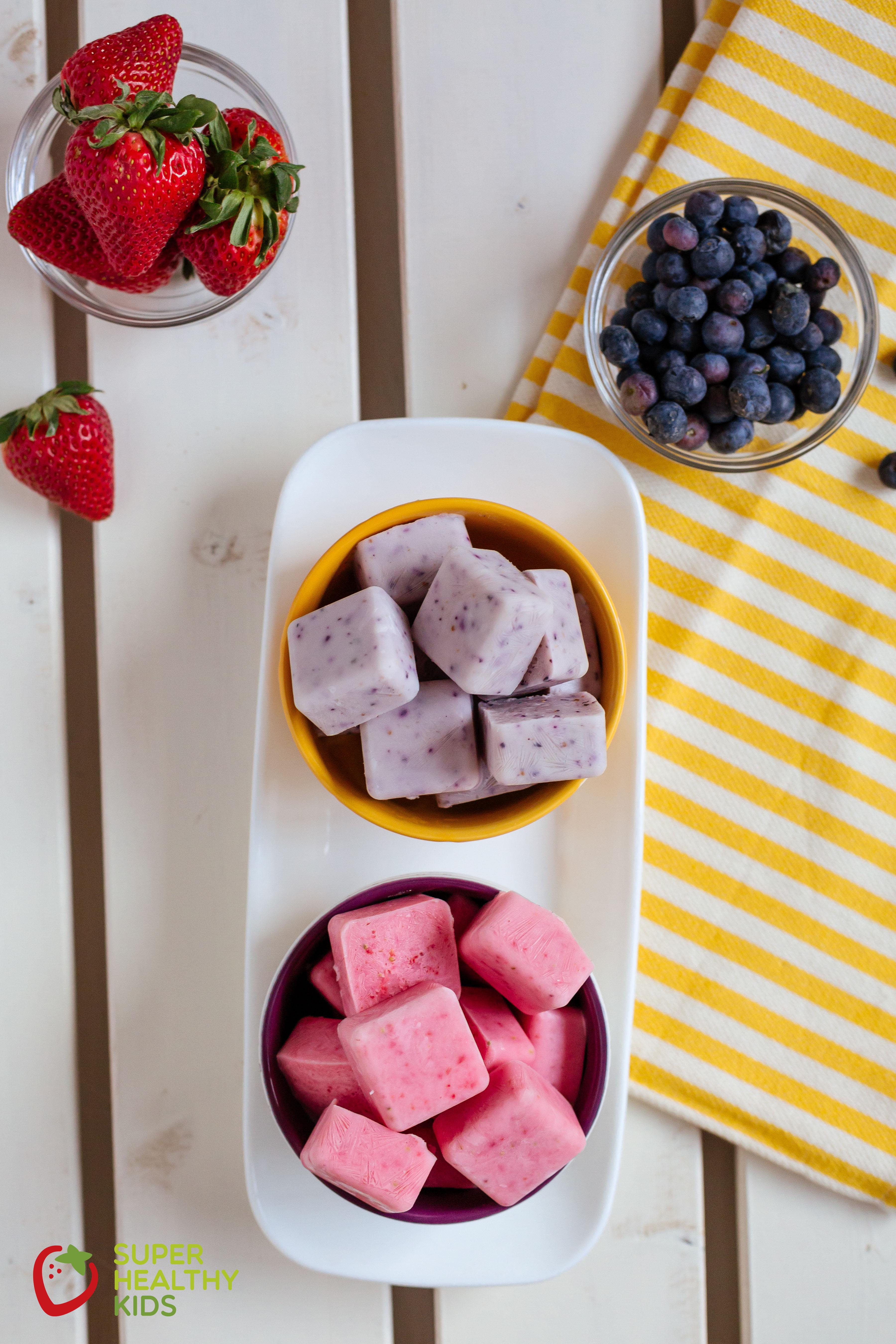 Good Healthy Snacks For Kids  FroYo Bites Recipe
