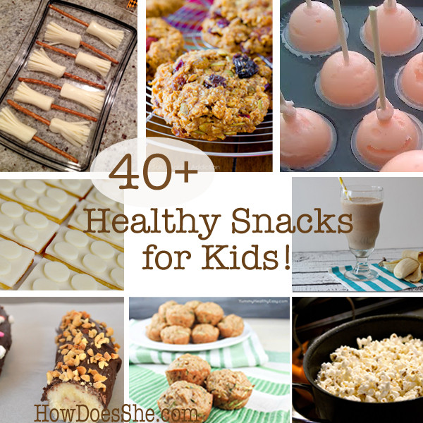 Good Healthy Snacks For Kids  Healthy Snacks for Kids
