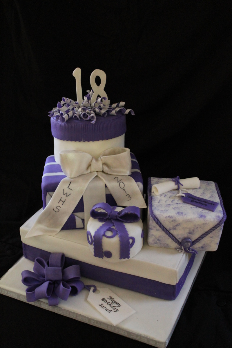 Graduation And Birthday Cake  Graduation and 18th Birthday Cake Decorating munity